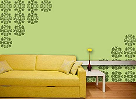Buy Gallerist Reusable Diy Wall Stencil Painting For Home Decor
