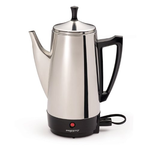 Buy Cheap Presto 12-Cup Electric Stainless Steel Coffeemaker