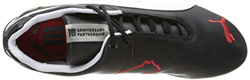 Puma Future Cat Leather SF -10, Baskets Basses Mixte Adulte Noir (Black-White 02)