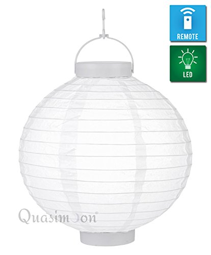 Led Paper Lantern Light With 12 Super Bright White Leds in US - 4