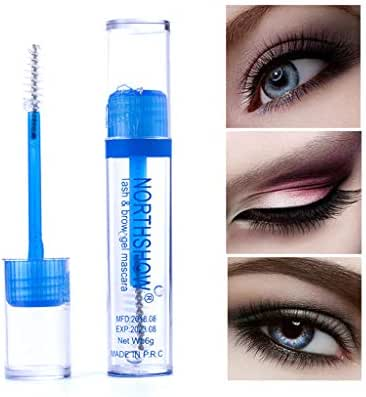 Eyelash Growth Serum, Sunday88 Lash Primer For Eyelash Extensions, Transparent Waterproof Professional Natural Lash and Eyebrow Enhancer Nourish Damaged Lashes (White)