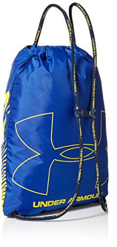 Under Armour Unisex SC30 Sackpack, Royal (400)/Taxi, One Size