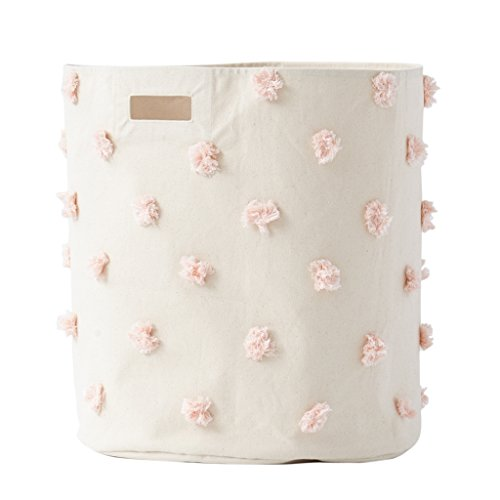 Pehr Pom Pom Hamper, Blush by PEHR