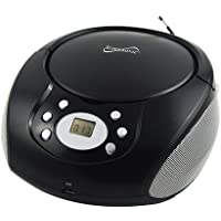 Supersonic SC507MP3 Portable Mp3/CD Player With AM/FM Radio (Color may vary)