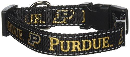 Purdue Dog Collar - Pet Goods NCAA Purdue Boildermakers Dog Collar, Medium