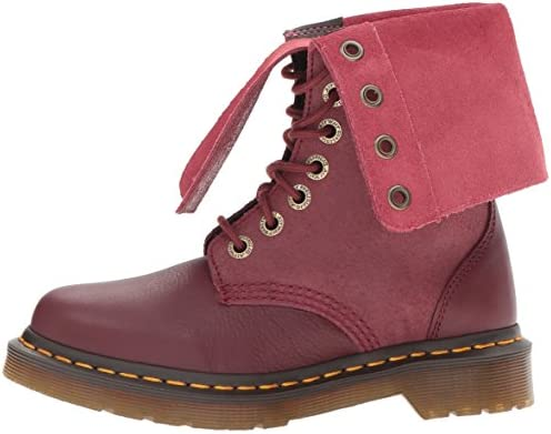 Dr. Martens Hazil Cherry Red Virginia 20346600, Bottes 42