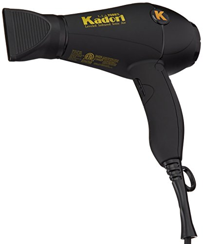 Kadori Professional Blow Dryer Salon Hair Dryer L.I.A 2500X Ceramic, With Ionic Technology by Kadori Professional