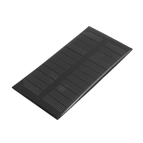 uxcell 125mm x 63mm 1 Watt 6 Volt Monocrystalline Solar Cell Panel Module