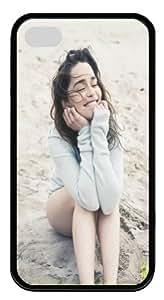 Emilia Clarke IPhone 4 4s Case, Unique Designer Emilia Clarke soft Case Covers For Apple iPhone 4 4s