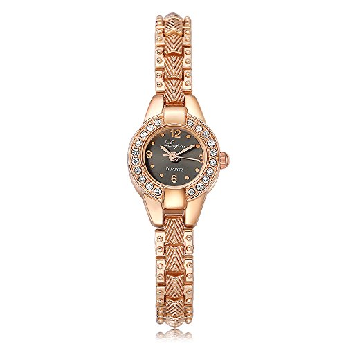 Lvpai Ladies Diamond Bracelet Wrist Watches Analog Quartz Arabic Numeral P267