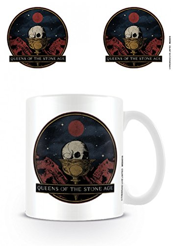 Set: Queens of The Stone Age, Chalice Photo Coffee Mug  And