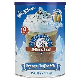 Caffe Damore Frappe Freeze Mocha 486 Lbs 2 Of 243 Canister