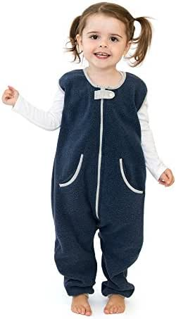 baby deedee Kicker Sack with Feet Sleep Bag, Navy, 18-24 M