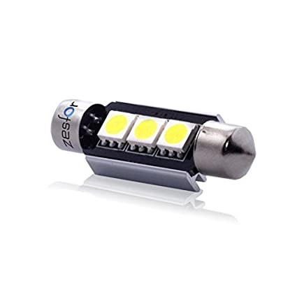 Zesfor® Bombilla LED c5w Can Bus 39 mm, 3 SMD Brillant - Tipo 16 ...