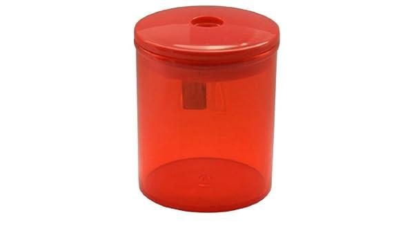 Eisen 512/40/444 - Sacapuntas, rojo (Pack de 12): Amazon.es: Oficina y papelería