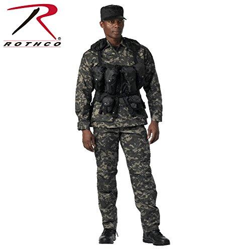Rothco Tactical Assault Vest, Black