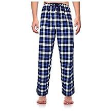 RK Classical Sleepwear Men's 100% Cotton Flannel Pajama Pants, Size Small
