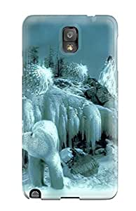 Tpu Case Cover Compatible For Galaxy Note 3/ Hot Selling Case/ Ice Deities