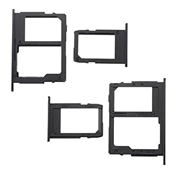 BisLinks® Reemplazo para Samsung Galaxy J5 J7 2017 Sim Micro SD Tarjeta Bandeja Poseedor Slot Negro J530 J730