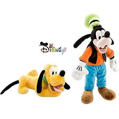 Disney Goofy and Pluto Plush Doll Set: Toys & Games