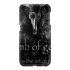 Samsung Galaxy S6 WUg1103GvcB Support Personal Customs Colorful Lamb Of God Series Protector Hard Cell-phone Cases -JonathanMaedel