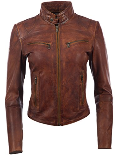 Fitted Leather Jacket - 6