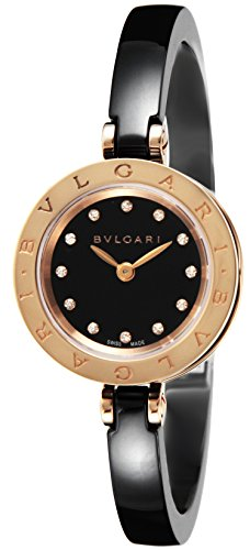 BVLGARI B-ZERO1 Black Dial K18PG / Stainless Women Watch BZ23BSGCC / 12-S