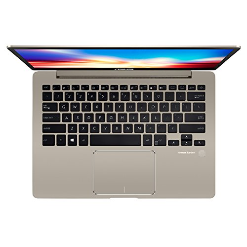 ASUS ZenBook 13 Ultra-Slim Laptop 13.3'' FHD Display, Intel 8th gen Core i5-8250U, 8GB RAM, 256GB M.2 SSD, Win10, Backlit KB, FP, Icicle Gold, UX331UA-AS51 by ASUS (Image #2)