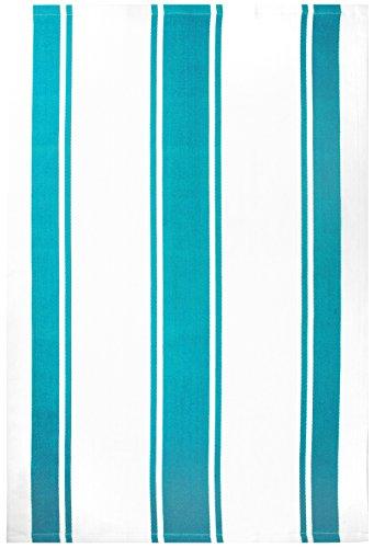 MUkitchen 100% Cotton Oversized Designer Kitchen Towel, Aquamarine - 20 x 30 ()