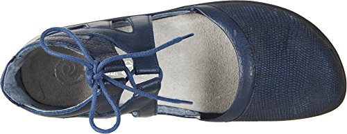 Naot Footwear Womens Kata Navy Reptile Leather/Ink Leather/Polar Sea Leather oj8vYAhpfZ