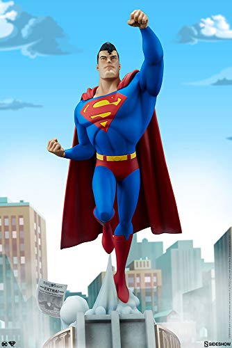 Sideshow DC Comics Animated Series Collection Superman Man of Steel Statue