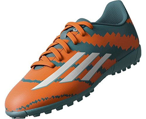 4 arancione Power 10 Messi Adidas Verde Argento Teal Orange solar White J Tf Stivali qgUEUw0