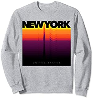 [Featured] Urban New York City Colorful Fashion , New York City Sweatshirt in ALL styles | Size S - 5XL