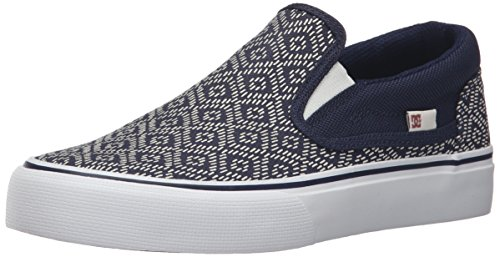 Slip DC SP Trase Navy On Shoe Skate Trase DC tqATrqP