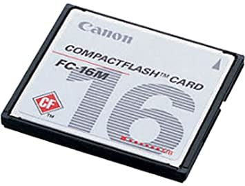 Amazon.com: Canon – Tarjeta de memoria flash – 16 MB ...