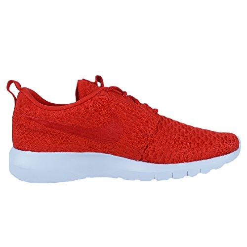 Nike Mens Roshe Nm Flyknit Se Scarpa Da Corsa Università Rosso / Università Rosso-bianco