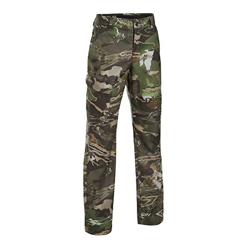 Under Armour Boys' Field Pants,Ridge Reaper Camo Fo (943)/Black, 12