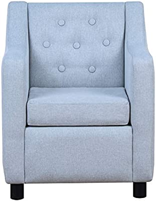 Amazon.com: BabyLand Kids Sofas Armrest Chair (Single Seat ...