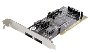 Vivanco 23410 - Accesorio (PCI, SATA, Alámbrico, Windows 98SE, 2000, ME, NT, XP, Vista, Win7)