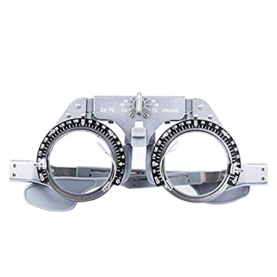 Lamptti Adjustable Trial Frame Optical Trial Lens Frame PD 54-70mm Pure Titanium Optical Ultralight Trial Frame