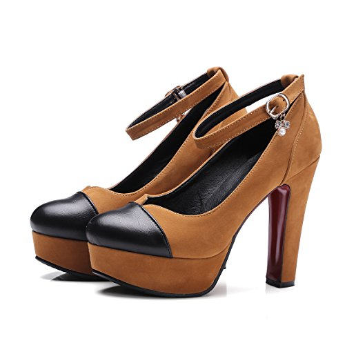 Bomba Oto B PU de o Primavera Mujer Zapatos TwYAnvB