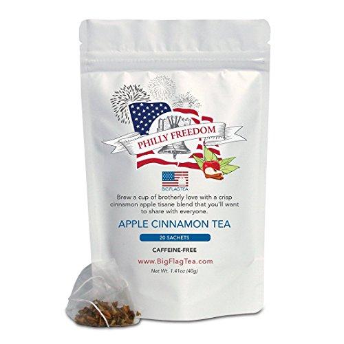 Apple Cinnamon Tea   Philly Freedom   20 Full Leaf Sachets