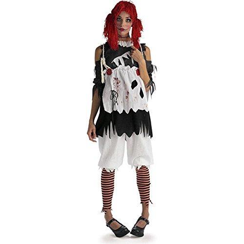 Rubie's Women's Deluxe Rag Doll Costume, As As Shown, Standard -