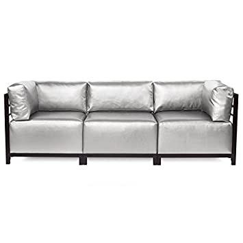 Howard Elliott K923M 770 Axis Sectional Sofa With Mahogany Frame, Luxe  Mercury, 3