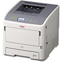 Oki OKI62442001 B721dn Monochrome Laser Printer, 49 ppm, 8-1/2 x 14 Max Print Size, 630 Sheet Capacity, Network Ready