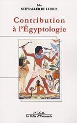 Contribution à l'Egyptologie