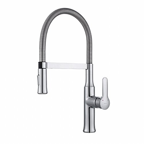Faucet Bathroom Sink Elevated - Kraus KPF-1640CH Nola Kitchen Faucet, KPF-1640 Chrome