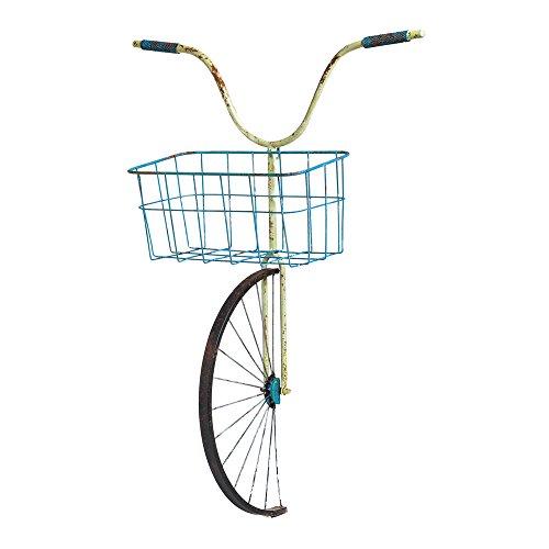 Cape Craftsmen Bicycle Basket Planter Wall Decor