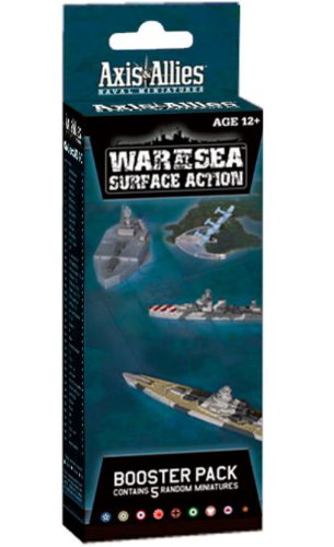 War at Sea: Surface Action: An Axis & Allies Naval Miniatures Booster Expansion (Axis & Allies Miniatures)