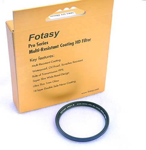 Fotasy X100KT 49mm Metal Filter Adapter Ring Lens Hood Set and 49mm Pro Nano Multi-Coated MRC Filter for Fujifilm X100 X100s